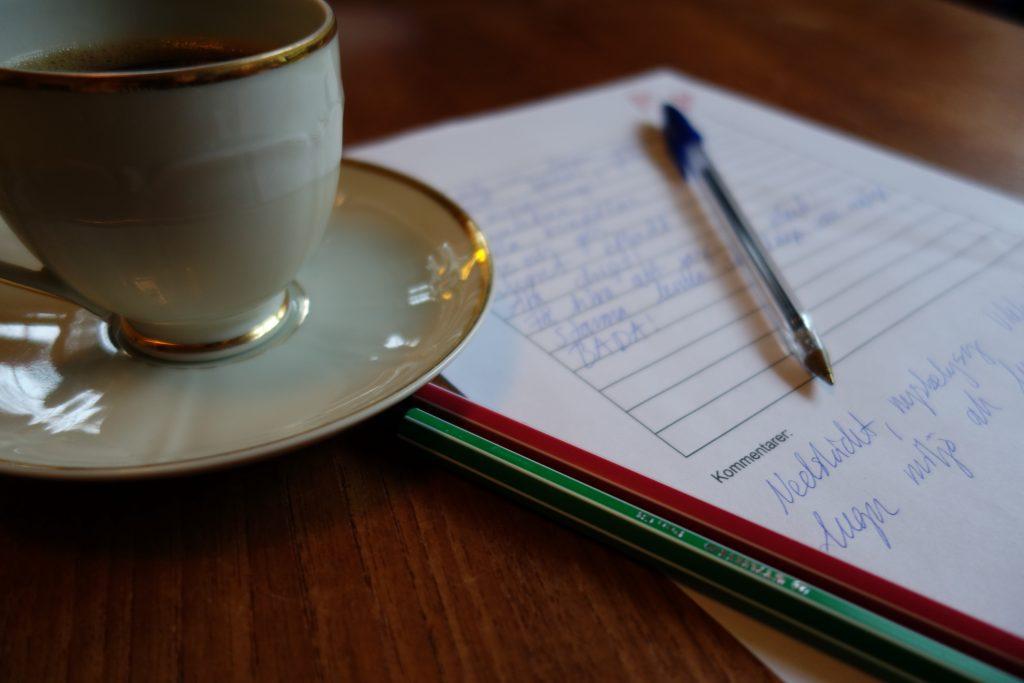 kaffe och samtal